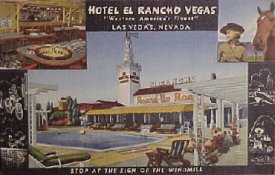 The First Las Vegas Strip Hotel/Casino